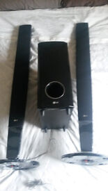 LG HOME CINEMA SURROUND SOUND SPEAKER SYSTEM £25