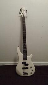 Redwood RB150 Bass Guitar (White)