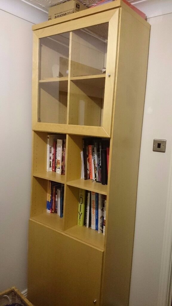 Ikea Bonde Solid Shelving Unit For