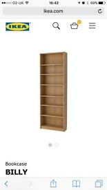 2 x IKEA billy book cases £75
