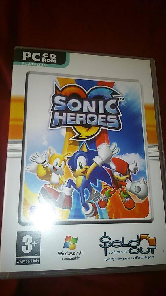 Sonic heroes pc cd rom | in Braintree, Essex | Gumtree
