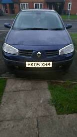 Renault Megane Expression 1.6 05 plate £350 ono