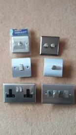 Varilight dimmers, switches & sockets