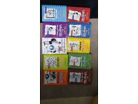 Diary of a wimpy kid 10 books bundle