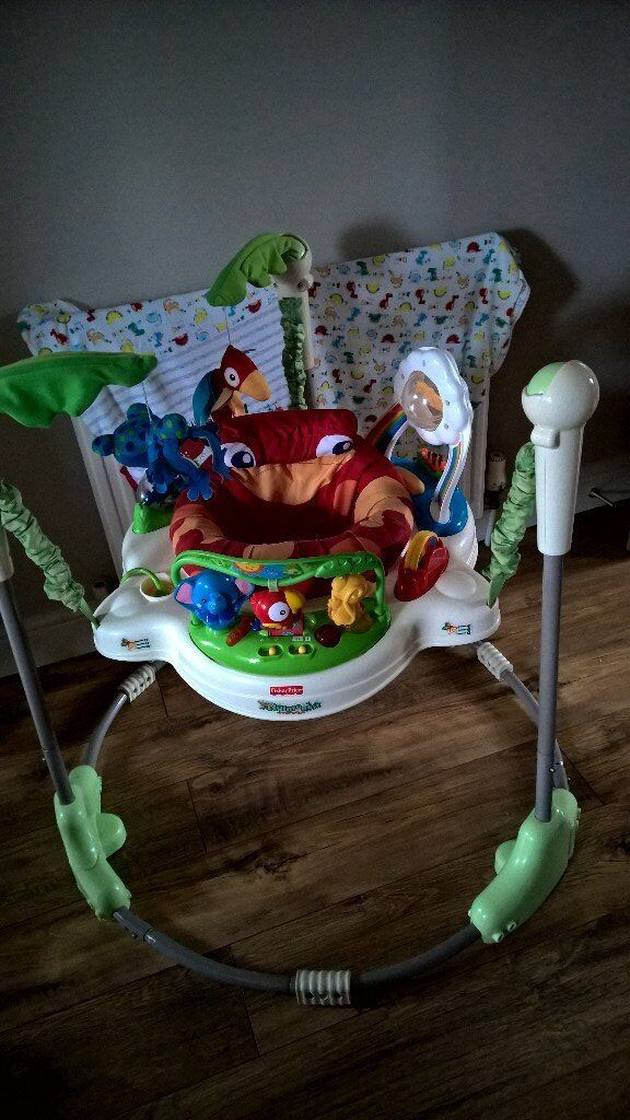 c3e1c28a0 Fisher Price Rainforest jumperoo