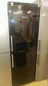 HOTPOINT 70^30 FROST FREE FRIDGE FREEZER IN BLACK