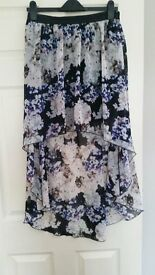 Lipsy skirt size 12 floral