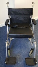 Lightweight Folding Travel Wheelchair with zip up travel bag - offers £35 plus