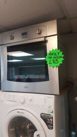 Integrated/Built In Belling Stainless Steel Electric Oven with 4 MONTHS WARRANTY