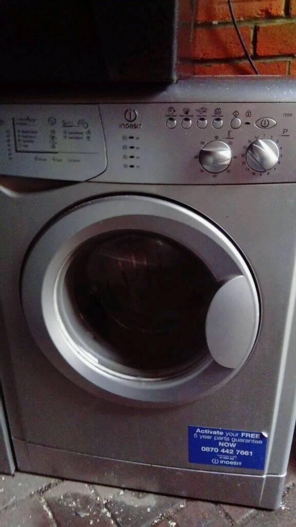 Silver 6kg washing machine