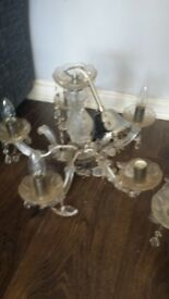 3 chandeliers only 45 can deliver if havnt transport