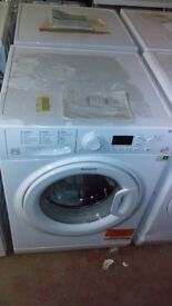 HOTPOINT 9kg white WASHING MACHINE new ex display which may have minor marks or blemishes