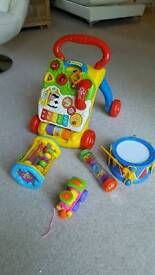 Vtech first steps walker and baby toddler toys