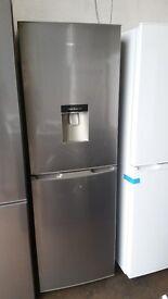 Brand New KENWOOD KFCD55X15 Fridge Freezer - Stainless Steel Chrome / Silver