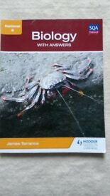 BIOLOGY - National 5, Revsion guide book
