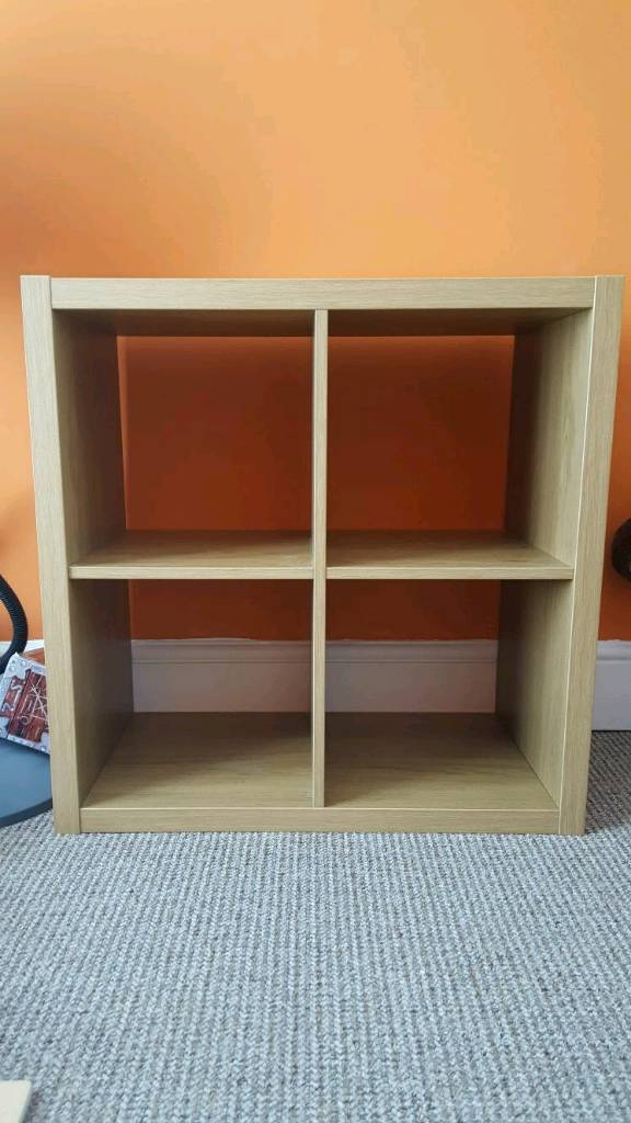 4 Cube Unit Oak cube /Storage units