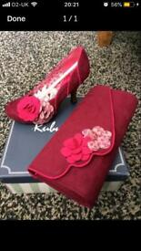 Ruby shoo shoes and matching bag