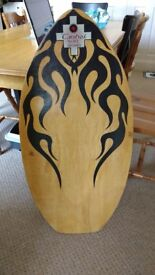Vintage Tribal Surf Skimboard For Sale - Excellent Condition