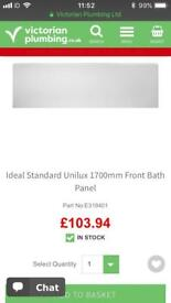Ideal Standard Unilux 1700mm Front Bath Panel - New in Packaging