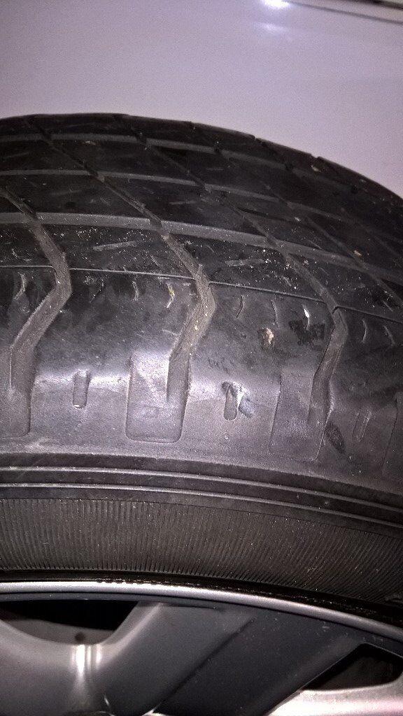 "19"" alloy wheel with good Wrangler tyre"