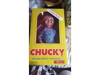 Chucky doll talking