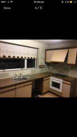 Kitchen units - cupboards- sink - gas cooker - all for £210