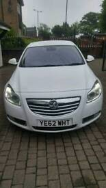 2012 diesel Vauxhall insignia white low mileage