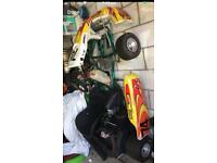 Rotax max senior race petrol go kart