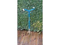 Gold Garden Claw Adjustable Soil Weeder, Cultivator, Lawn Aerator Compost Mixer