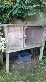 Guinea pig hutch, very good condition. Sturdy and well looked after.