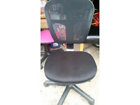 Office chairs--- 3 different colours