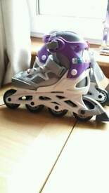 BNWT Oxelo roller boots adjustable sizing