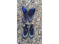 Neoprene boots for water wear