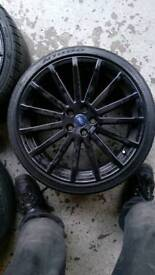 Ford focus rs alloy wheels 19 inch genuine