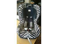 Britax Zebra car seat. Mint condition. £50