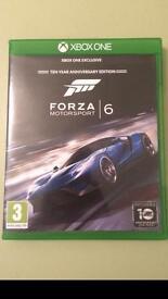 Forza 6 Xbox one game