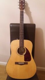 Fender CD140s acoustic in natural