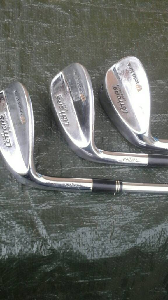 John Letters tp series L/H Forged wedge set