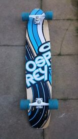 Ospray skateboard in used condition! Still plenty of life in it! Can deliver or post it!