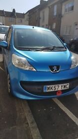 Peugeot 107, petrol, 14k miles, ideal first car, no category, cheapest year/millage, automatic