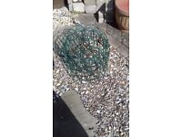 Green Plastic Coated Decorative Wire GardenFencing