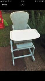 1950's high chair