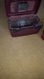 Samsonite vanity case with removable tray