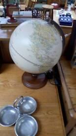 Large globe earth