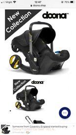 Doona stroller / car seat in black