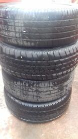Alloys for sale all four types are new need s clean £140