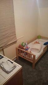 Ikea single kid bed