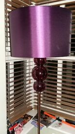 Next Floor Lamp with glass ball detailing