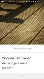 Quality decking timber