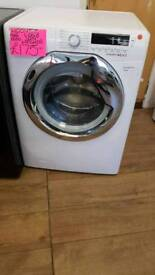 HOOVER WHITE 9KG LOAD 1600SPIN WASHING MACHINE